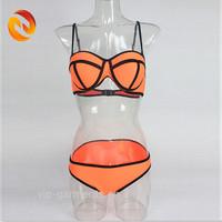 Women Triangle Swimwear Hot Biquinis Sexy Mature Bikinis Set