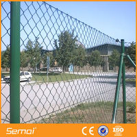 high quality low price vinyl coated chain link fence