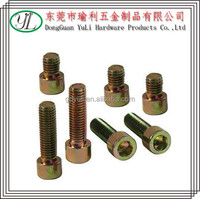 china screw manufacturer stainless steel hex sockrt bolt & nut protection cap