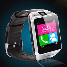 watch phone GV08 smart watch phone china wholesale hand watch mobile phone