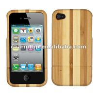 Real Natural Bamboo Case for iPhone 4