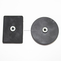 Rubber coated holding magnets made in Shanghai