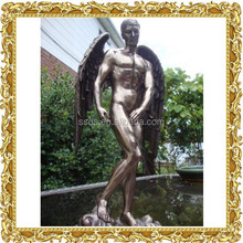 Male Nude Angel Statue Sculpture Figurine