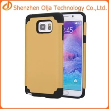 Factory wholesale silicon+pc shockproof case for samsung galaxy note 5