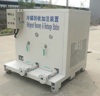 commercial auto ac recovery unit for refrigeration gas