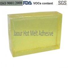 china grado superior de la cinta de velcro de fusión en caliente pegamento adhesivo