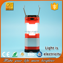 Aluminium Ultra Bright Outdoor Emergency Lantern Mini LED Camping light 8806