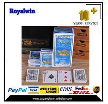 customized playing poker card /poker chips set