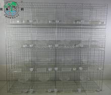 12 paloma puerta de cría jaula jaula / racing pigeon cage-2x0.55x1.7m en tamaño