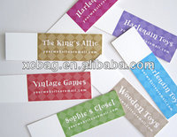 High definition hang tag for cloth&price tags for garment