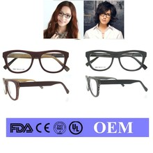2015latest glasses frames styles funky glasses frames wood spectacle round front frame with spring hinge