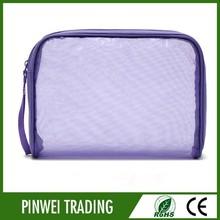 makeup bag natural purple pvc cosmetic bag pvc cosmetic bag zipper