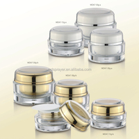 beauty & personal care glass cosmetic cream container