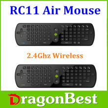 2.4G Wireless Remote Control,Keyboard and Air Mouse Combo with IR learning Function Smart TV Remote Control
