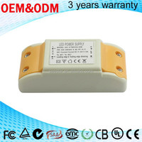AG series best selling items 4-7w dc 12-26v 300ma ac-dc power supplies triac dimmable led driver
