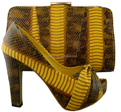 ladies shoes and matching bags(B8020)