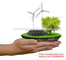 Modelos de trabajo energía solar para tierra protección