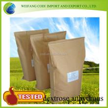 low price bp/usp grade corn Natural dextrose anhydrous