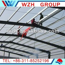 light steel frame structure/steel structure shed,steel structure factory shed made in China