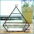 Estilo moda venta al por mayor terrario de vidrio para flor plantas Holder para la decoración del hogar