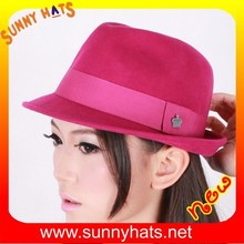 wool felt trilby fedora hats wholesale/manufacutring from factory 1993