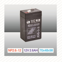 12v AGM battery , deep cycle battery, lead acid battery with copper battery terminal