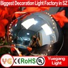 holiday living outdoor decoration outdoor hanging light balls waterproof led light ball