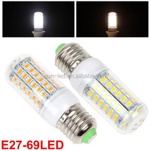 20W warm white /pure white E27 5630SMD led corn bulb led lamp 360 degree led corn light