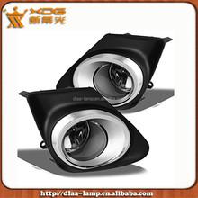 Corolla Auto Fog Lamp Kit , Chrome Fog light Assembly Corolla 11 12 13
