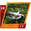 Caliente lh-x6 modelo 2.4g 4.5ch rc profesional de aviones no tripulados con 6 giroscopio eje rtf