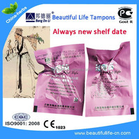 Beautiful life tampons with CE, Gost R cert tampon sizes ob tampon