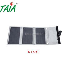 Portable silver 3w Solar Power Bank