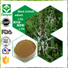 Powdered Black Cohosh Extract / Cimicifuga Racemosa Extract / 2.5% Triterpene Glycoside