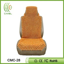 handmade wooden bead car seat cover