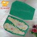 molde de silicone de decorar um bolo de flores do laço de flores de silicone moldes