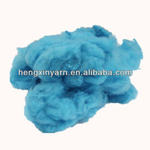 dyed china factory sells polyester filling fiber with low price