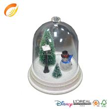 Factory custom-made clear acrylic holy family of snowman Christmas decoration