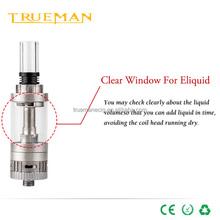 Airflow control low resistance Organic cotton coil electronic cigarette LOL Tank glass tank