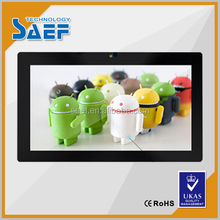 commercial HD 10 inch via wifi lcd screen advertising display