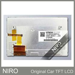 New Original Car Navigation/DVD LCD Display Screen by HITACHI TX18D34VM0FAA for Mercedes-Benz E300 7inch