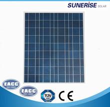 high quality factory direct sale pv solar panel 70W 100w 150W