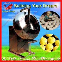 2013 cheapest dragee machine with heating plate