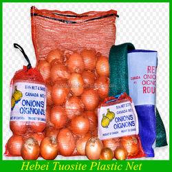 plastic onion/fruit mesh bag