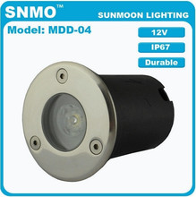 IP67 12V Low Voltage Walkover Uplight RGB Stainless Steel LED 12 volt recessed deck lighting led