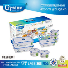 8 IN 1 air seal plastic food container