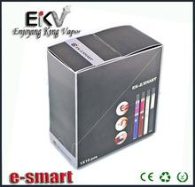 best multicolor design blister vaporizer pen e-Zigarette E smart factory price