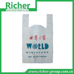 completely designs idea offered polychrome pe plastic t-shirt bag