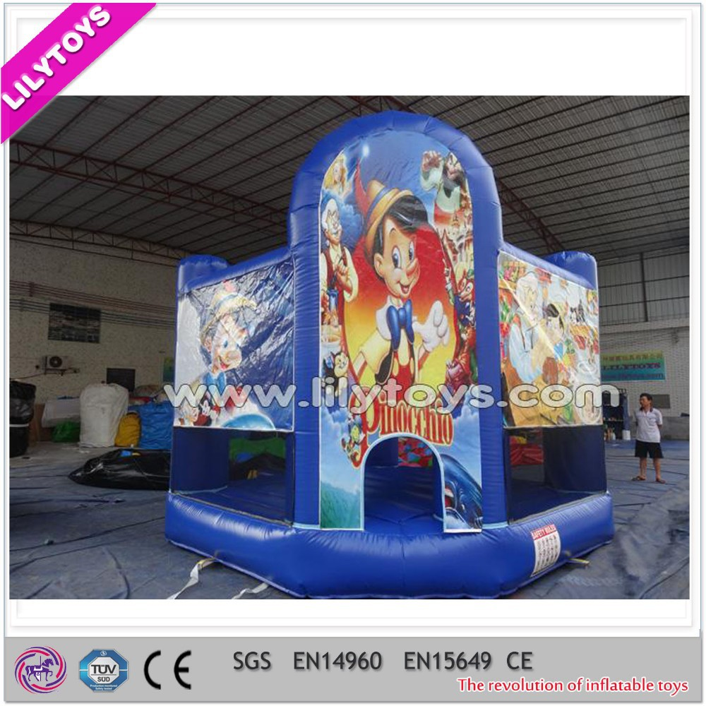 Gorila inflable combo, inflable mini jumper combo, combinado inflable comercial en venta