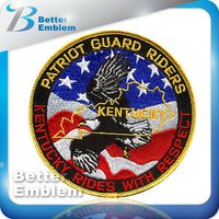 logo military embroidery patches for clothing