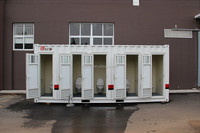 container mobile toilet